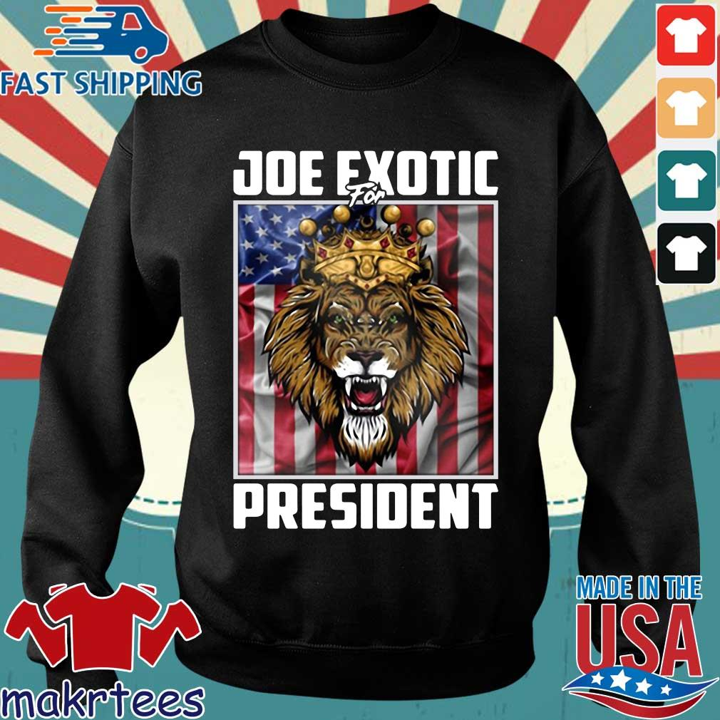 Joe Exotic for President Flag For Shirt Sweater den
