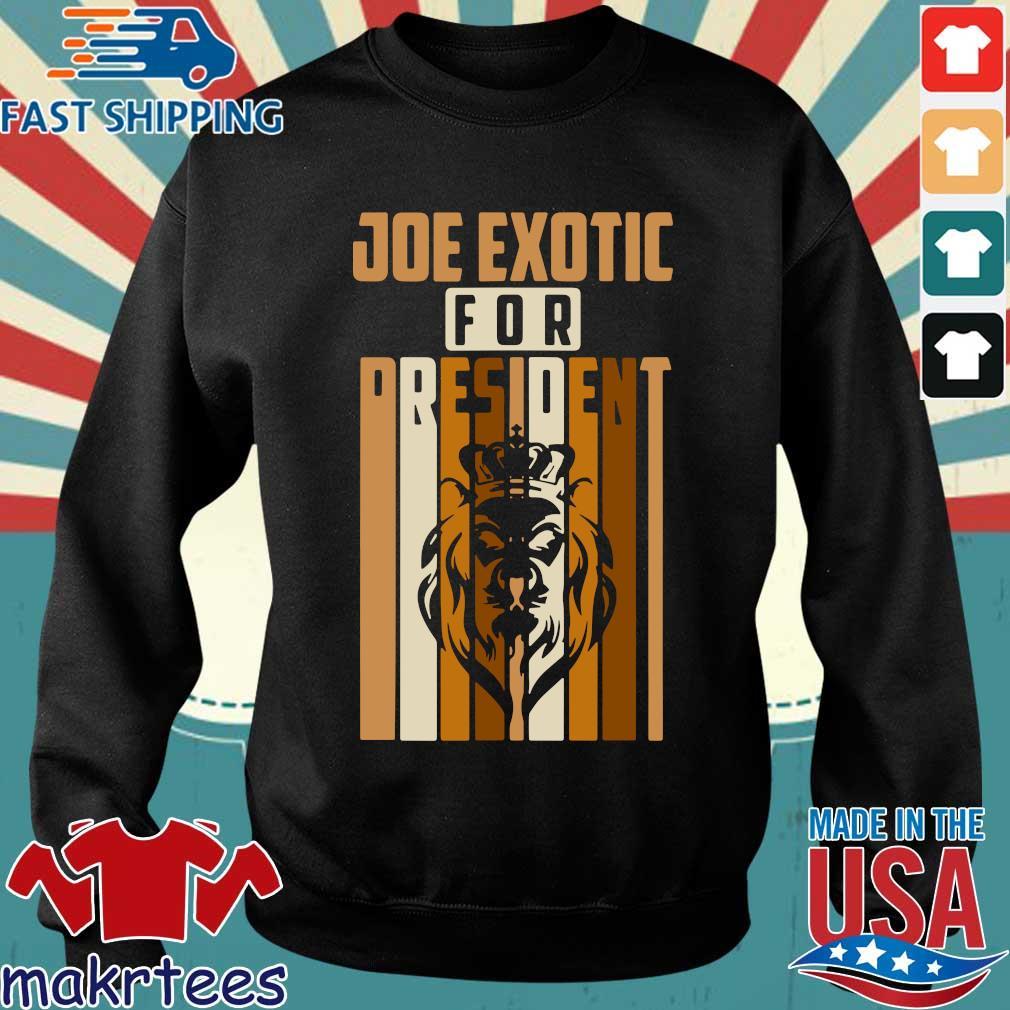 Joe Exotic For President Governor Shirt Sweater den