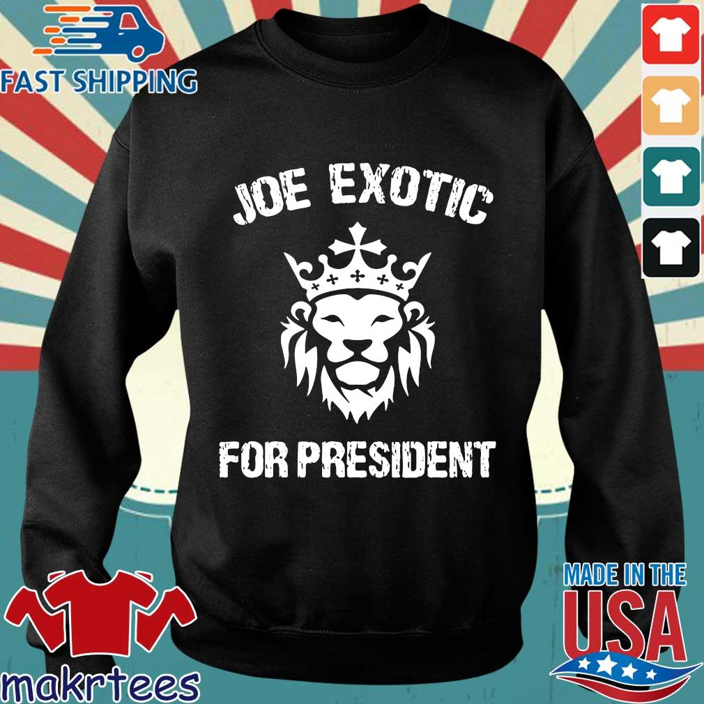 Joe Exotic For President US Shirt Sweater den
