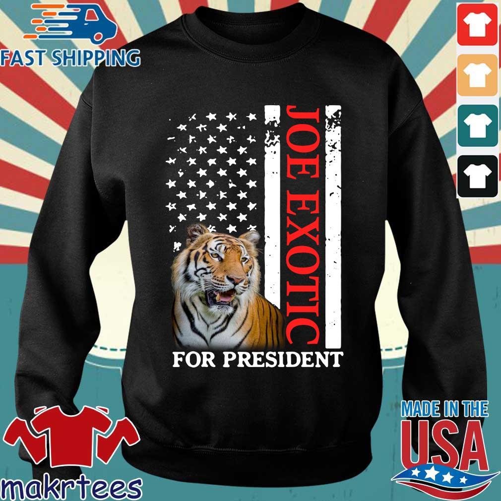 Joe Exotic Tiger King For President Shirt Sweater den