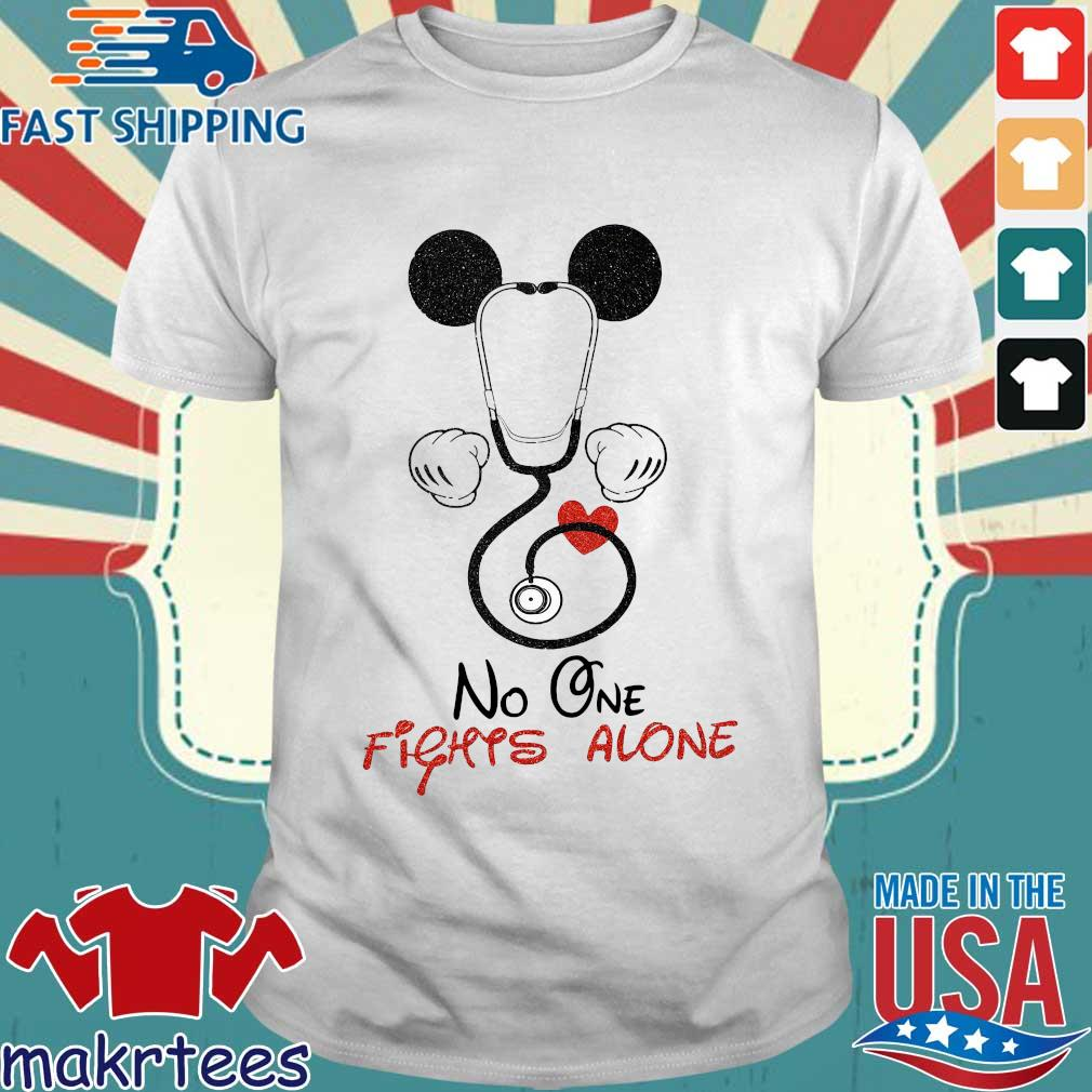 Mickey Mouse Fights Alone Shirt