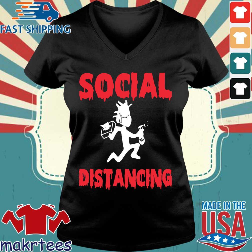 Morty Social Distancing Shirt Ladies V-neck den