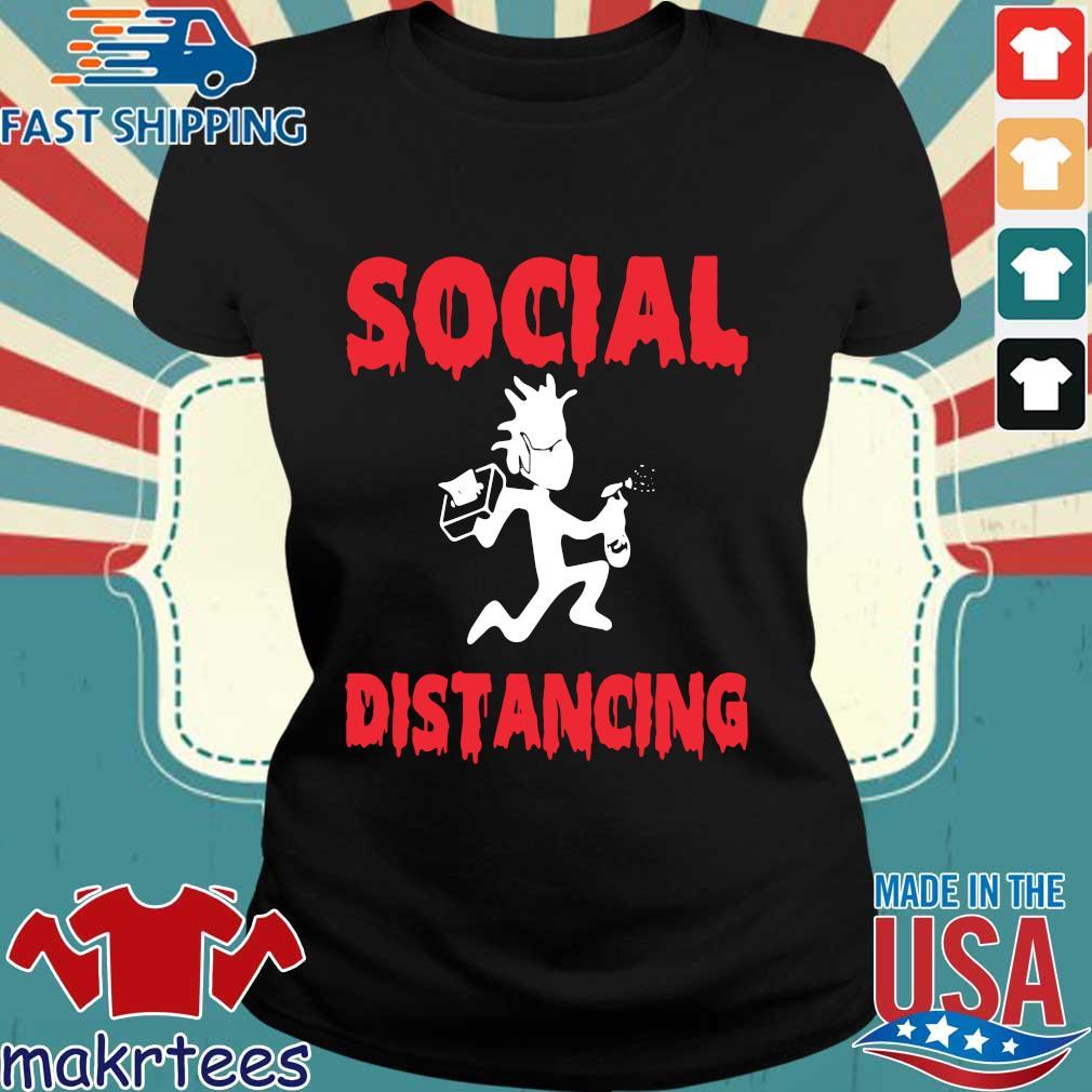 Morty Social Distancing Shirt Ladies den