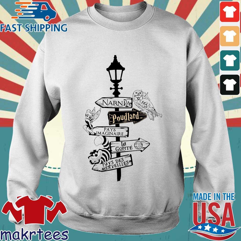 Narnia Poudlard Pays Imaginaire La Gomme Pays Des Merveilles s Sweater trang