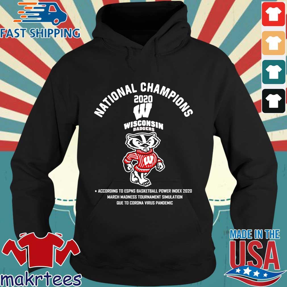 National Champions 2020 Wisconsin Badgers Shirt Hoodie den