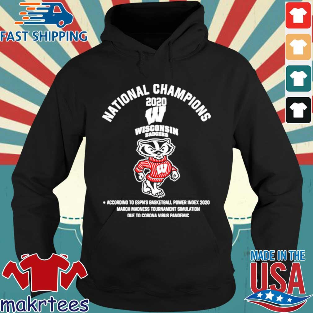 National Champions 2020 Wisconsin Badgers Shirt Hoodie den