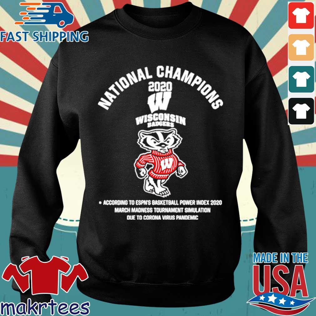 National Champions 2020 Wisconsin Badgers Shirt Sweater den