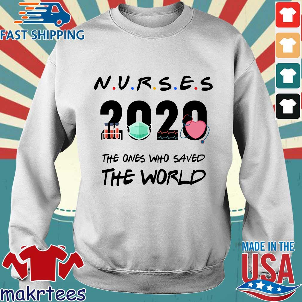 Nurses 2020 the ones who saved the world Covid-19 s Sweater trang