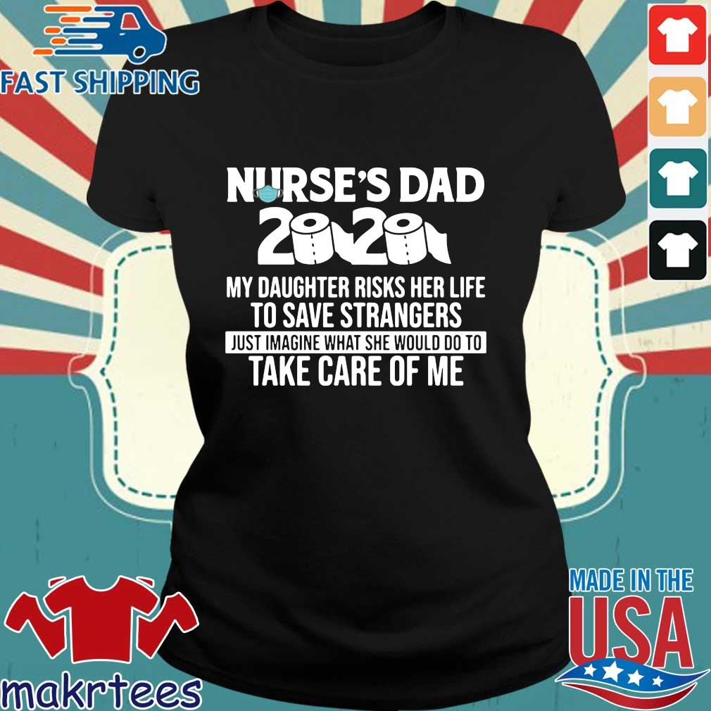 Nurse's Dad 2020 toilet paper s Ladies den