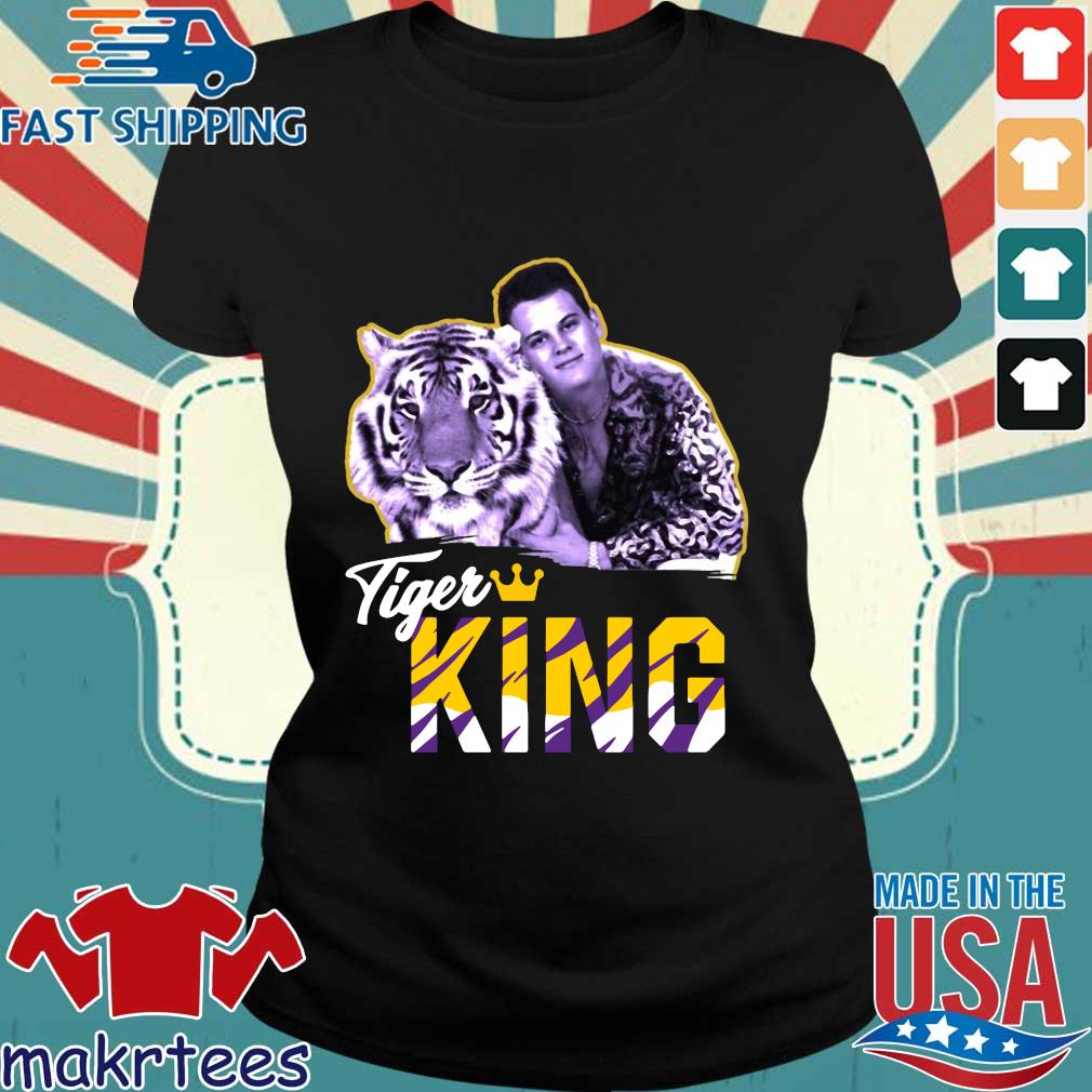 Official Joe EXOTIC Tigers King Shirt Ladies den