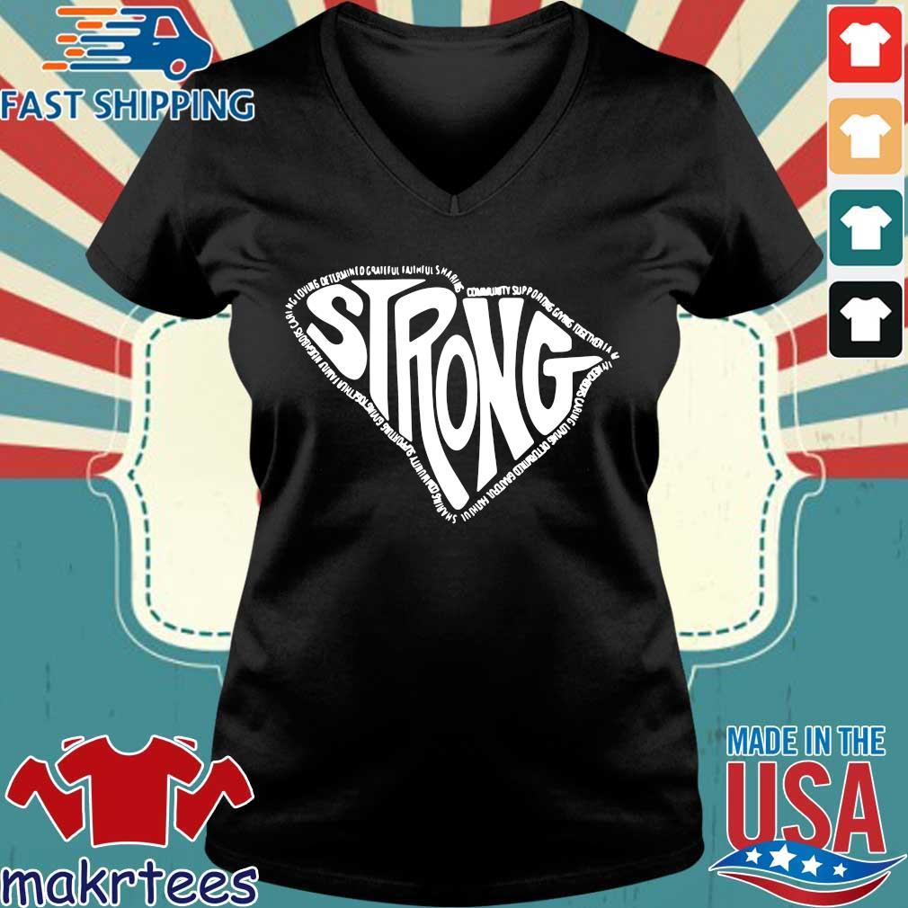 Palmetto Strong Shirt Ladies V-neck den
