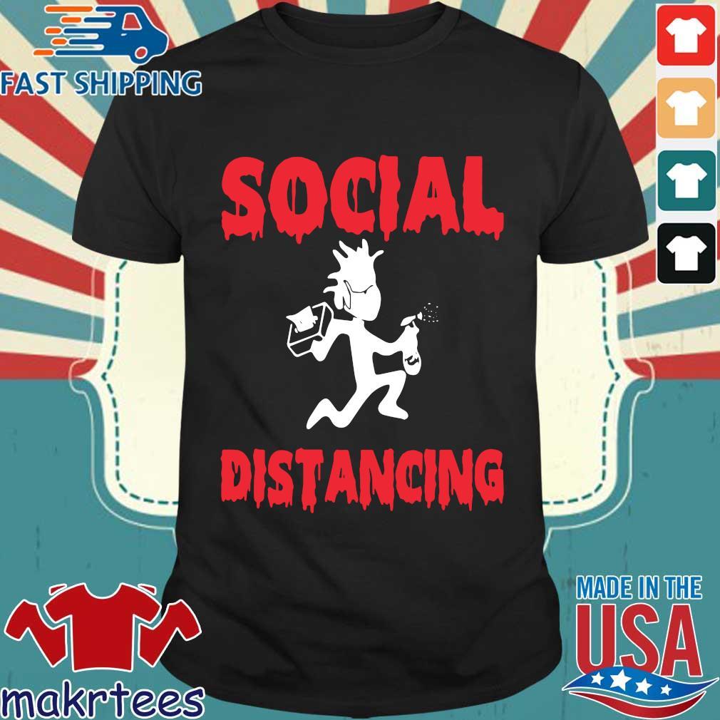 Rick Sanchez Social Distancing Shirt