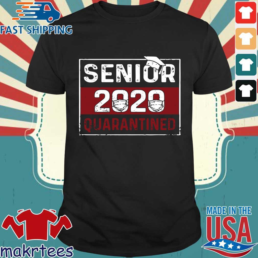 Senior 2020 mask quarantined shirt