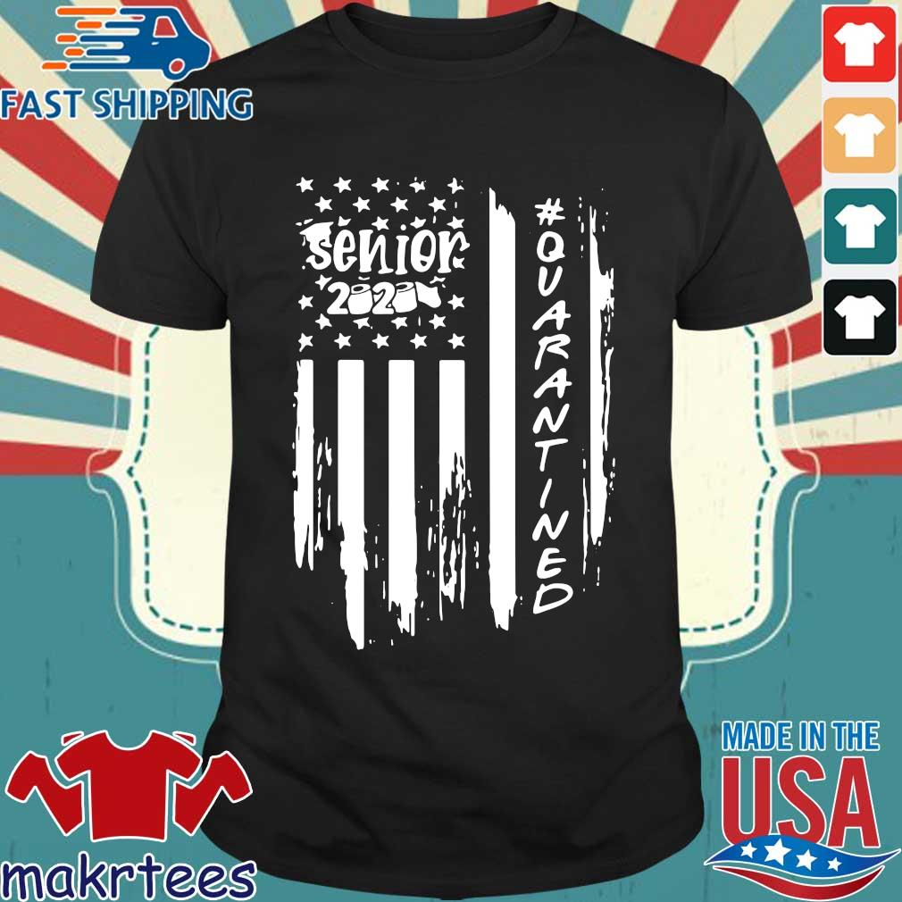 Senior 2020 Quarantine American Flag Shirt