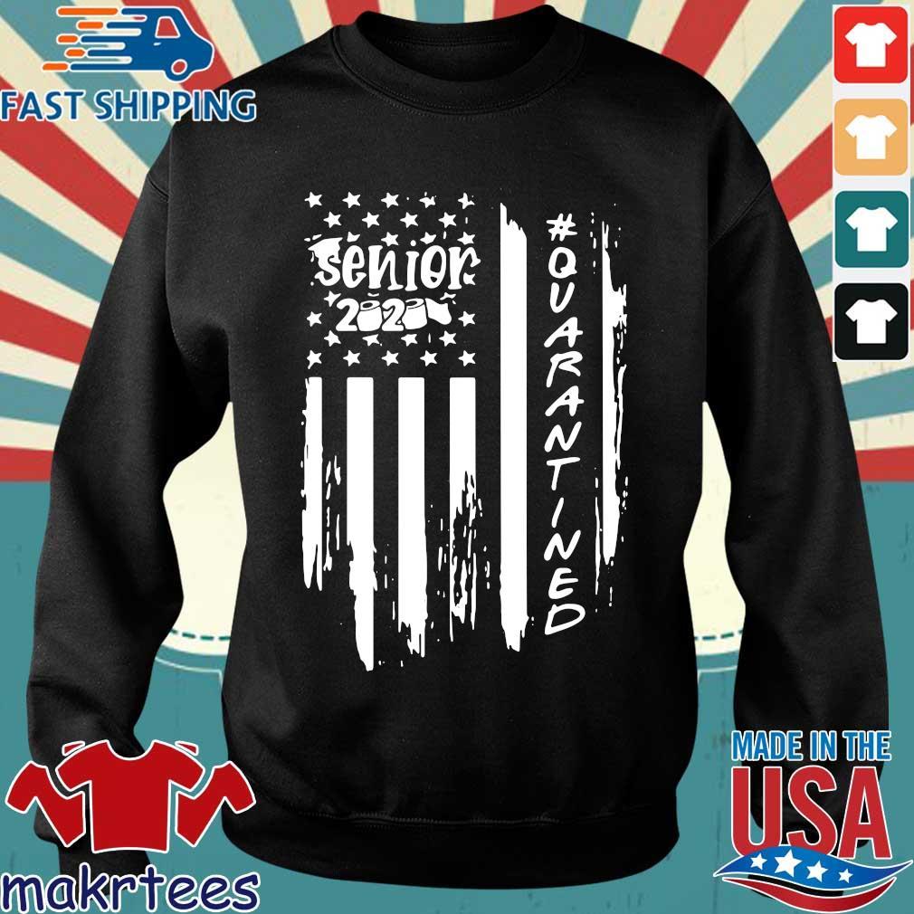 Senior 2020 Quarantine American Flag Shirt Sweater den