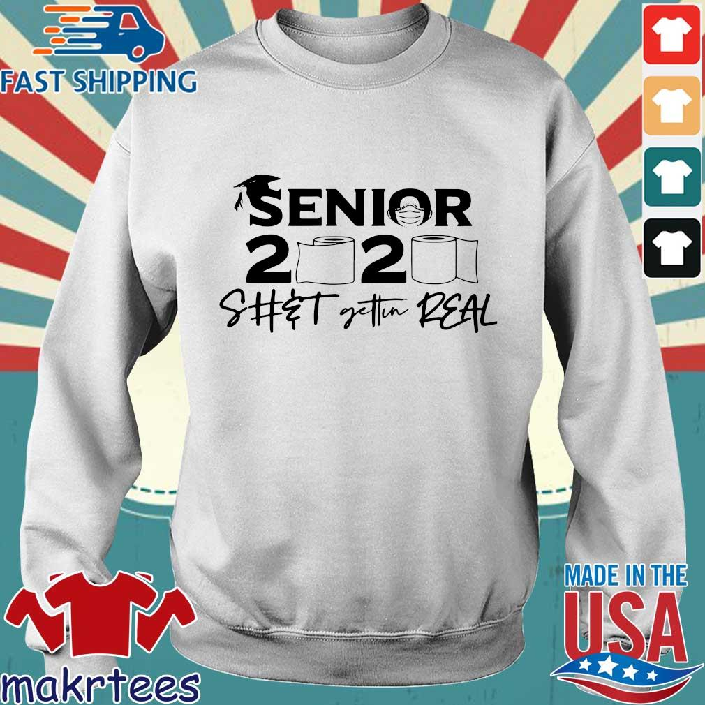 Senior 2020 Shit getting real official s Sweater trang