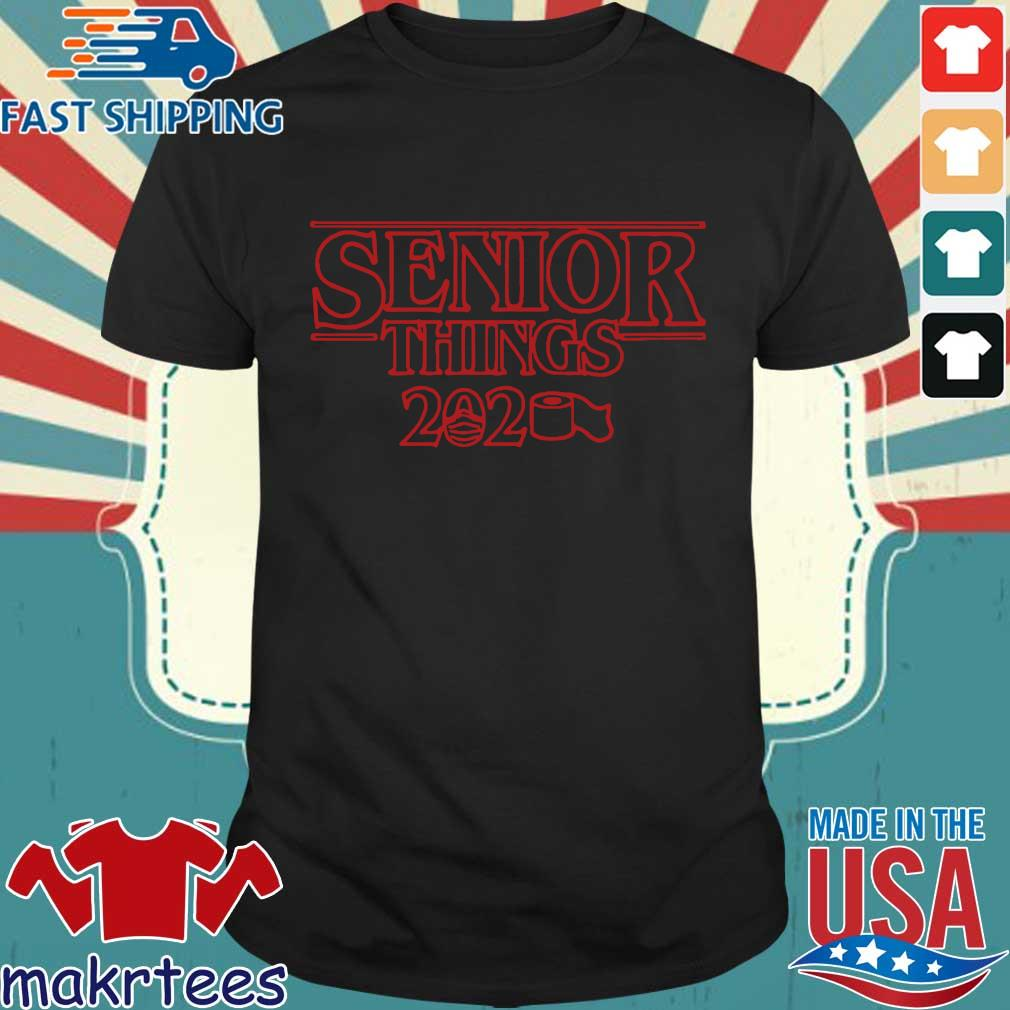 Senior things 2020 Stranger Things Shirt