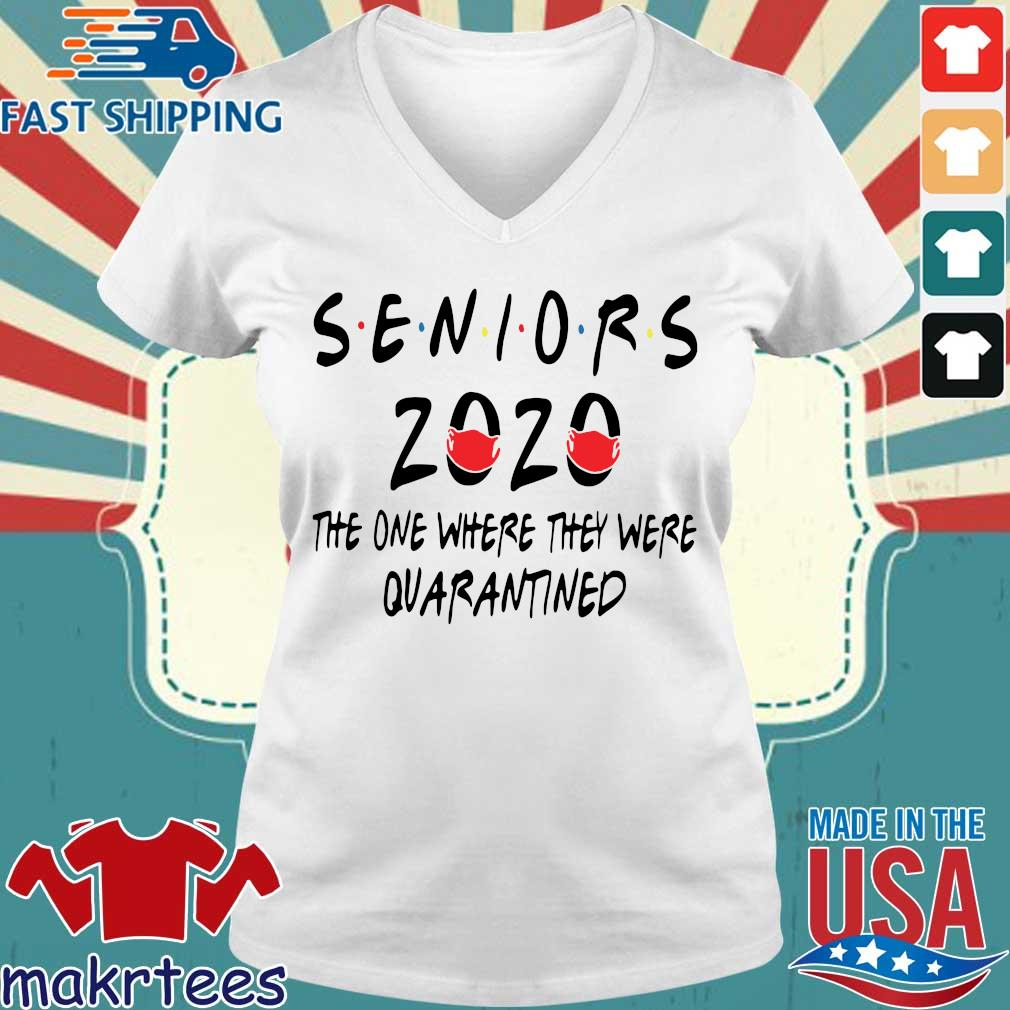 Seniors 2020 the one where they were quarantined official s Ladies V-neck trang