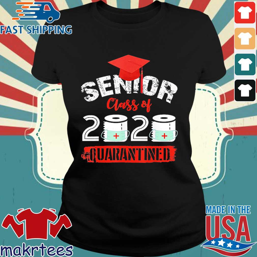 Seniors Class Of 2020 Virus Quarantine Grad Shirt Ladies den