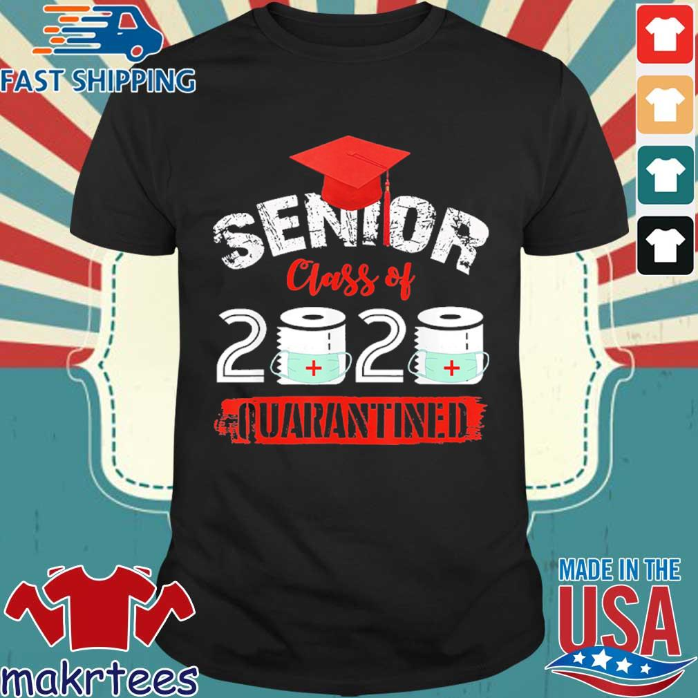 Seniors Class Of 2020 Virus Quarantine Grad Shirt