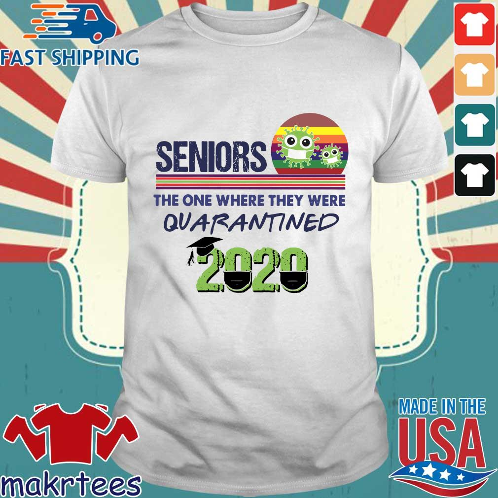 Seniors the one where they were Quarantined 2020 Vintage Shirt