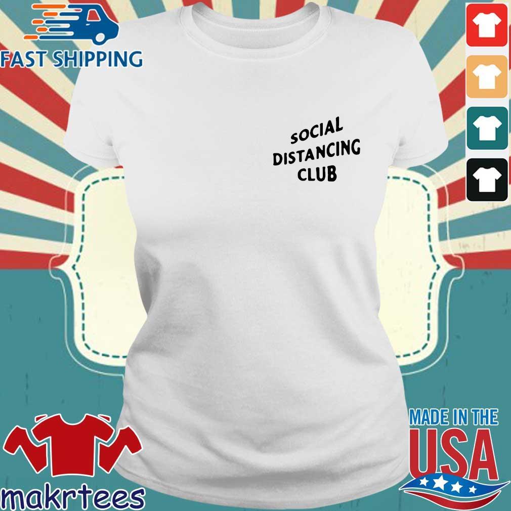 Social Distancing Club Shirt Ladies trang