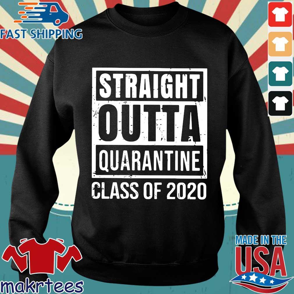 Straight Outta Quarantine Class Of 2020 Distressed Classic Shirt Sweater den