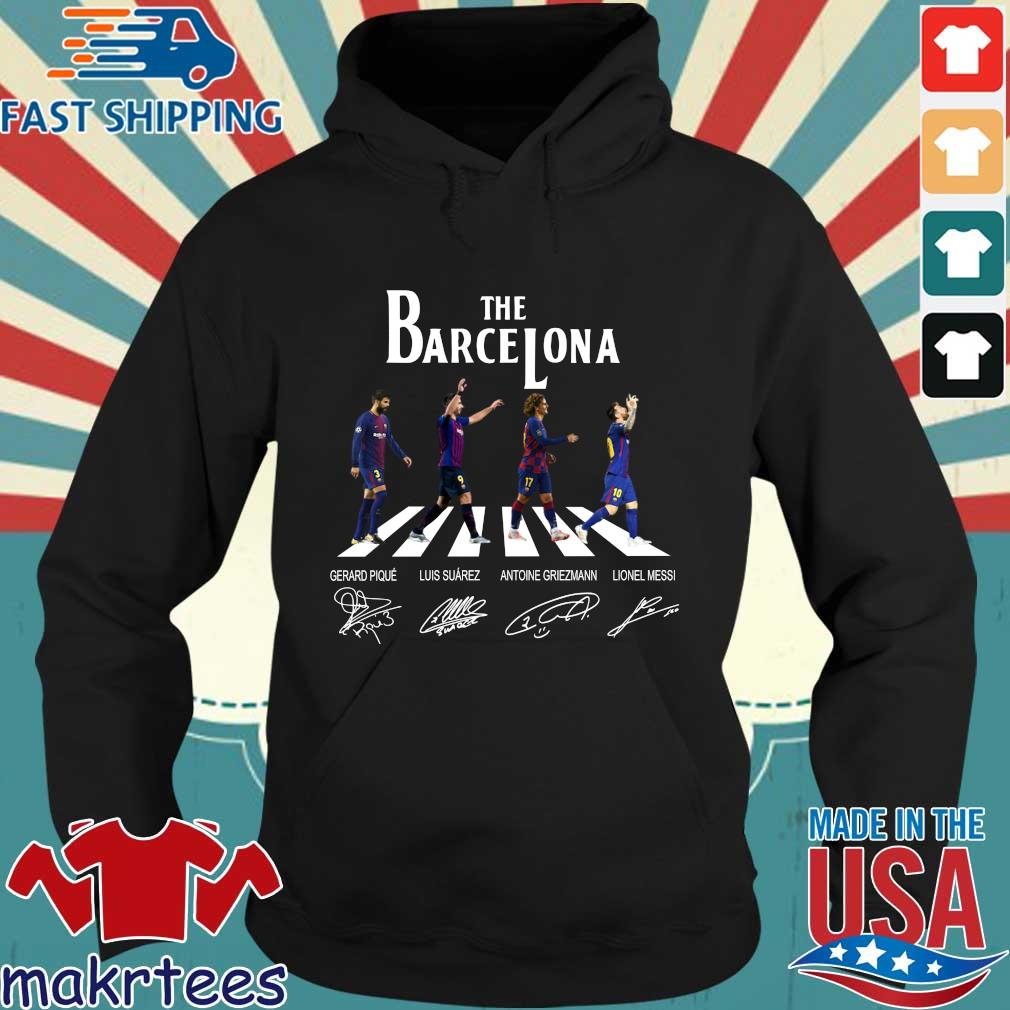 The Barcelona Abbey Road Signatures Shirt Hoodie den