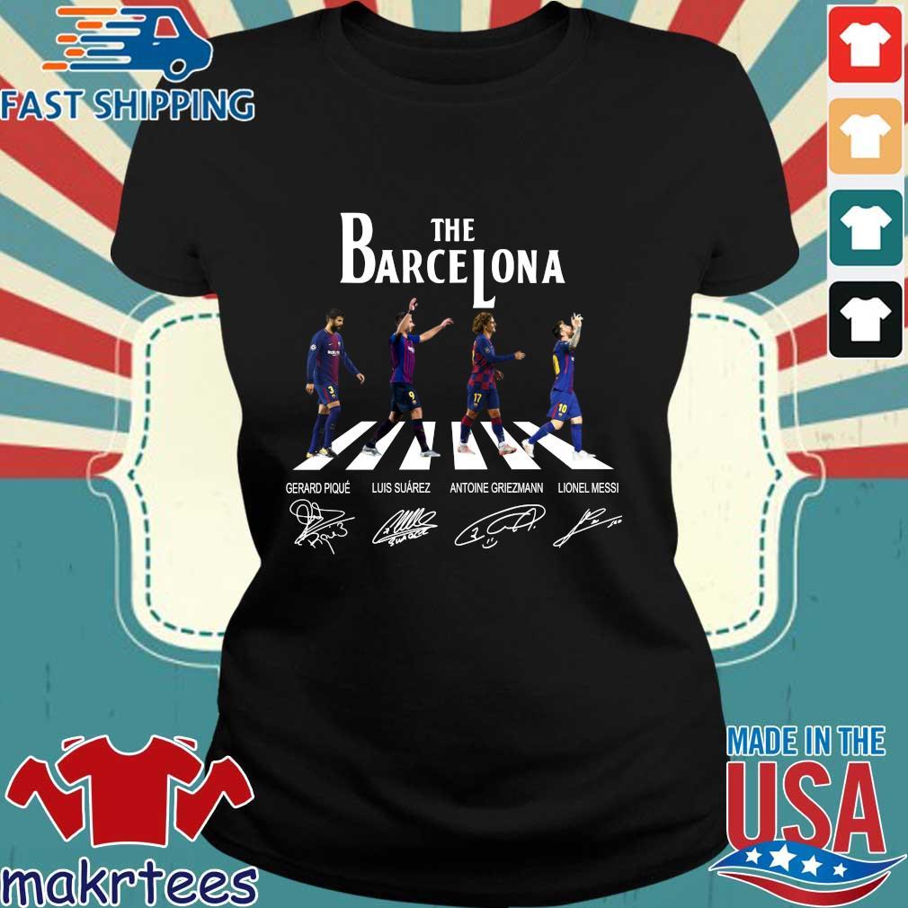 The Barcelona Abbey Road Signatures Shirt Ladies den