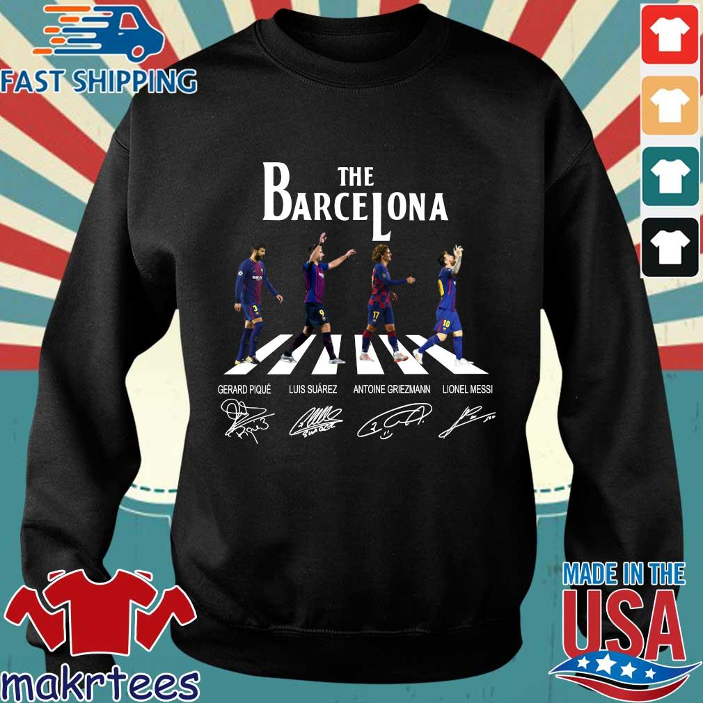 The Barcelona Abbey Road Signatures Shirt Sweater den