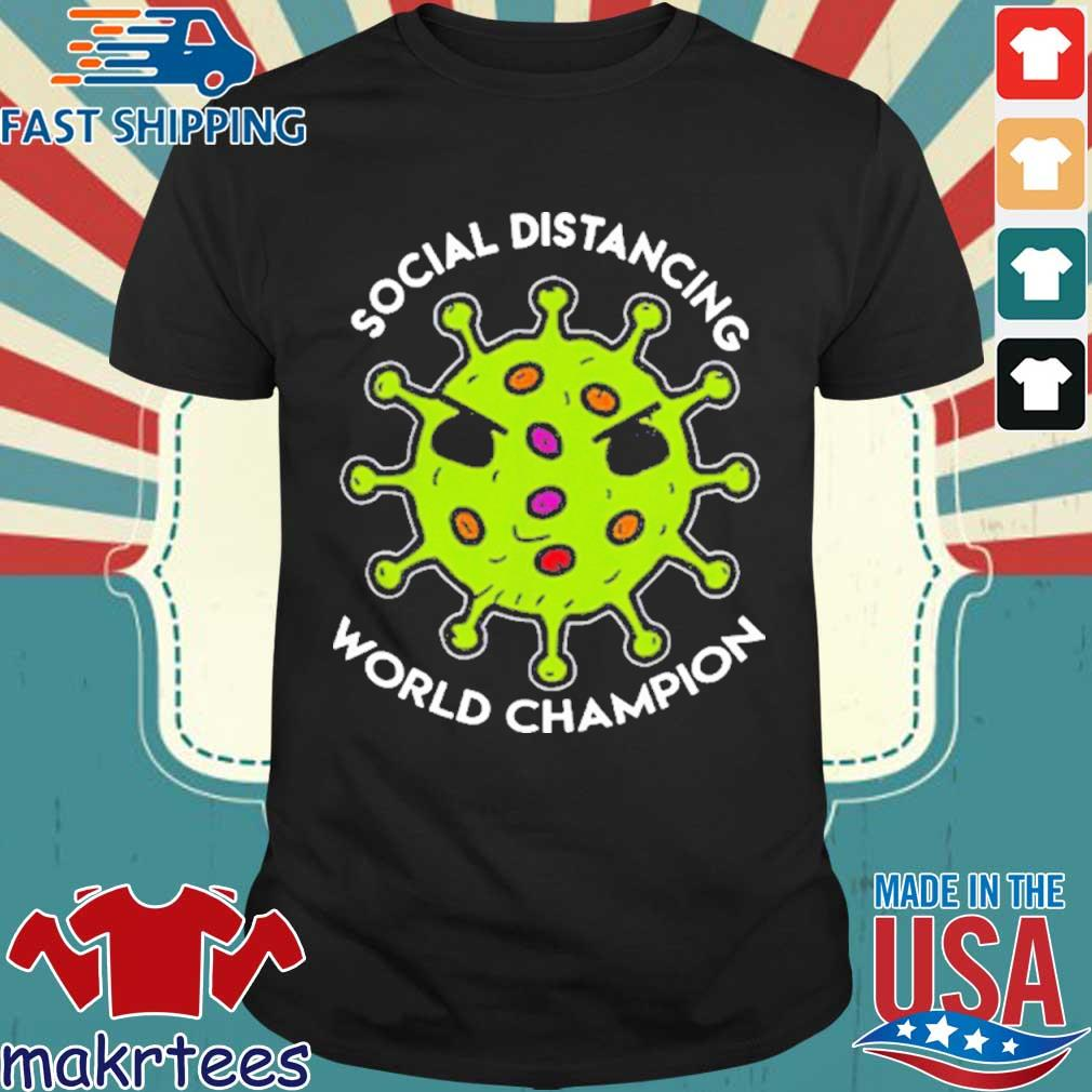Virus social distancing world champion 2020 T-Shirt