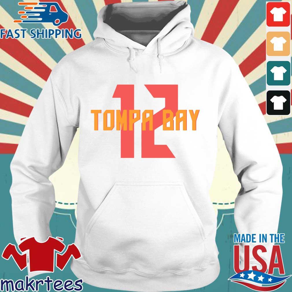 12 Tompa Bay Shirt Hoodie trang