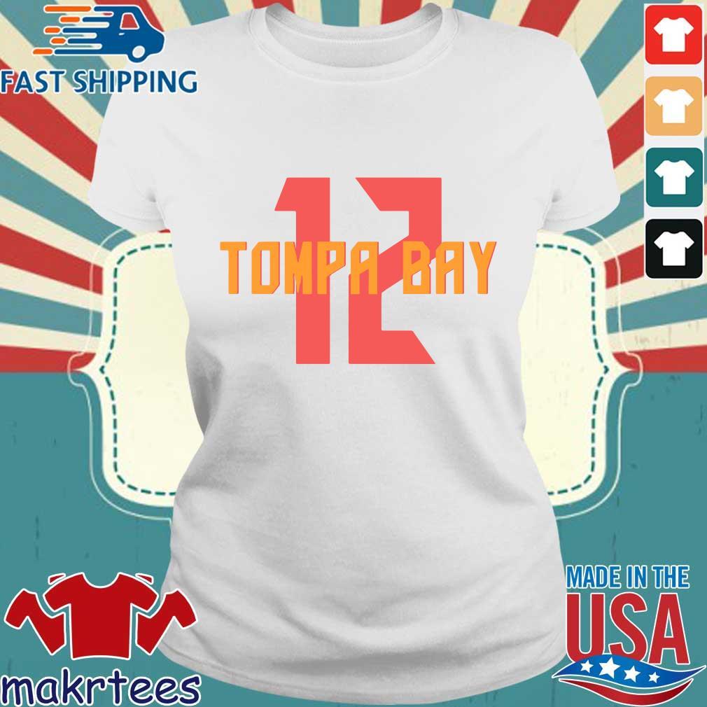 12 Tompa Bay Shirt Ladies trang