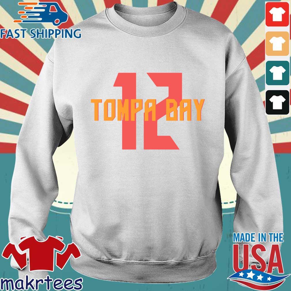 12 Tompa Bay Shirt Sweater trang