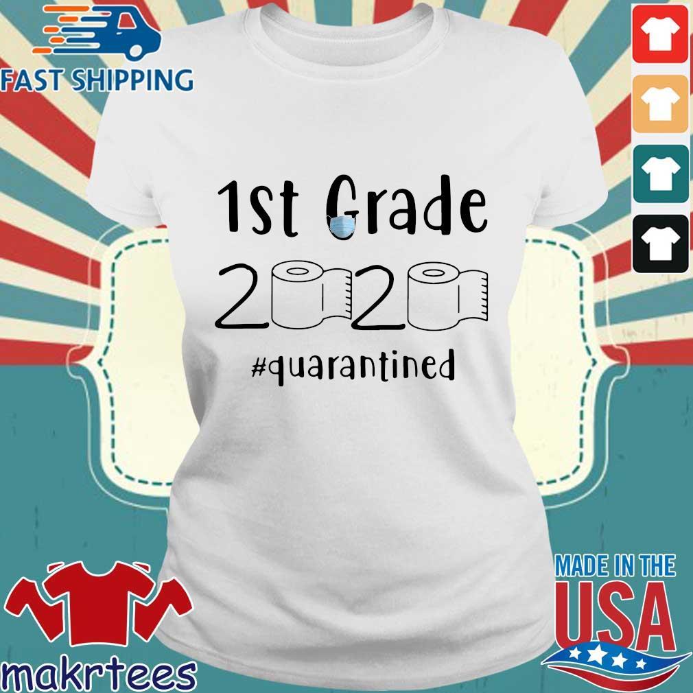 1st Grade 2020 Toilet Paper #quarantined Shirt Ladies trang
