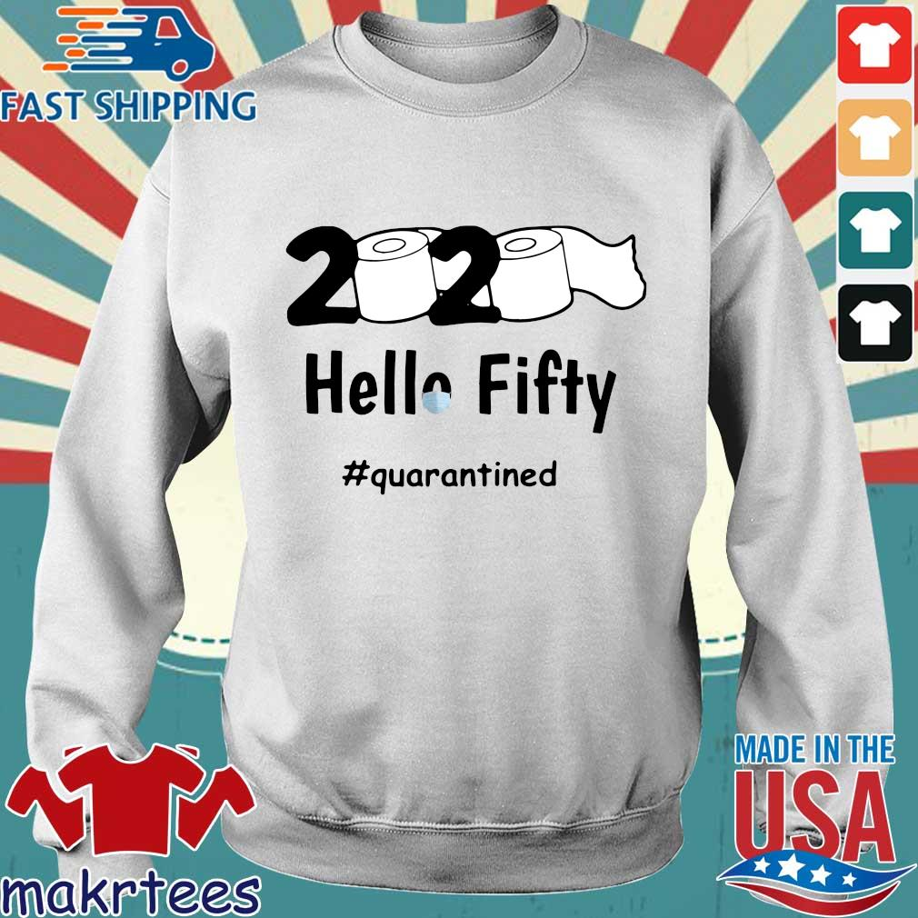 2020 Toilet Paper Fifty Quarantined Shirt Sweater trang