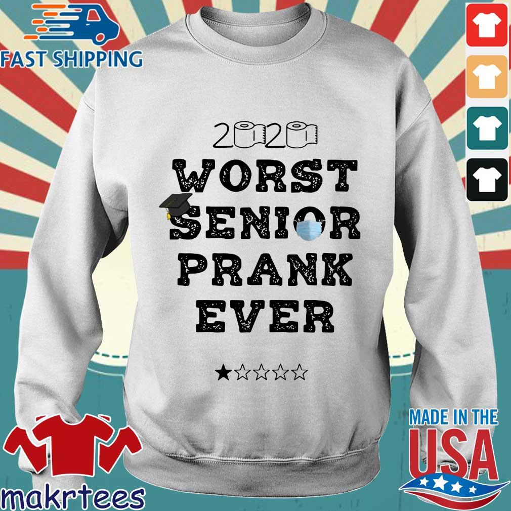 2020 Toilet Paper Worst Senior Prank Ever Shirt Sweater trang