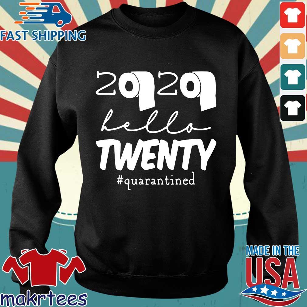 20th Birthday Quarantine 2020 Hello Twenty Shirt Sweater den