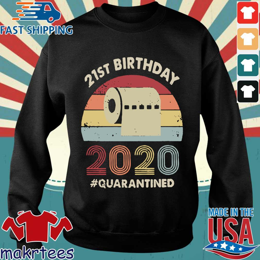 21st Birthday 2020 Quarantine Vintage Shirt Sweater den