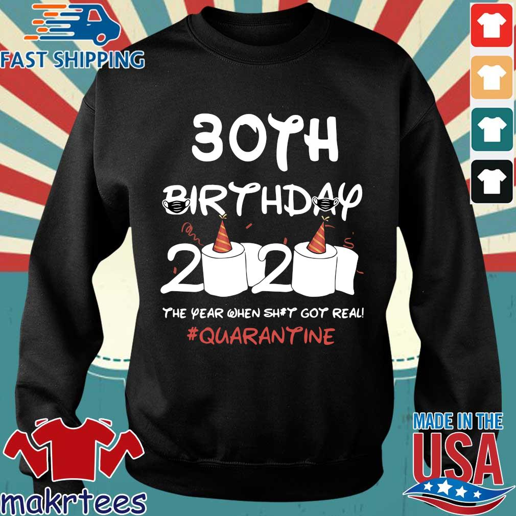 30th Birthday 2020 #Quarantine TShirt – Toilet Paper Birthday Sweater den
