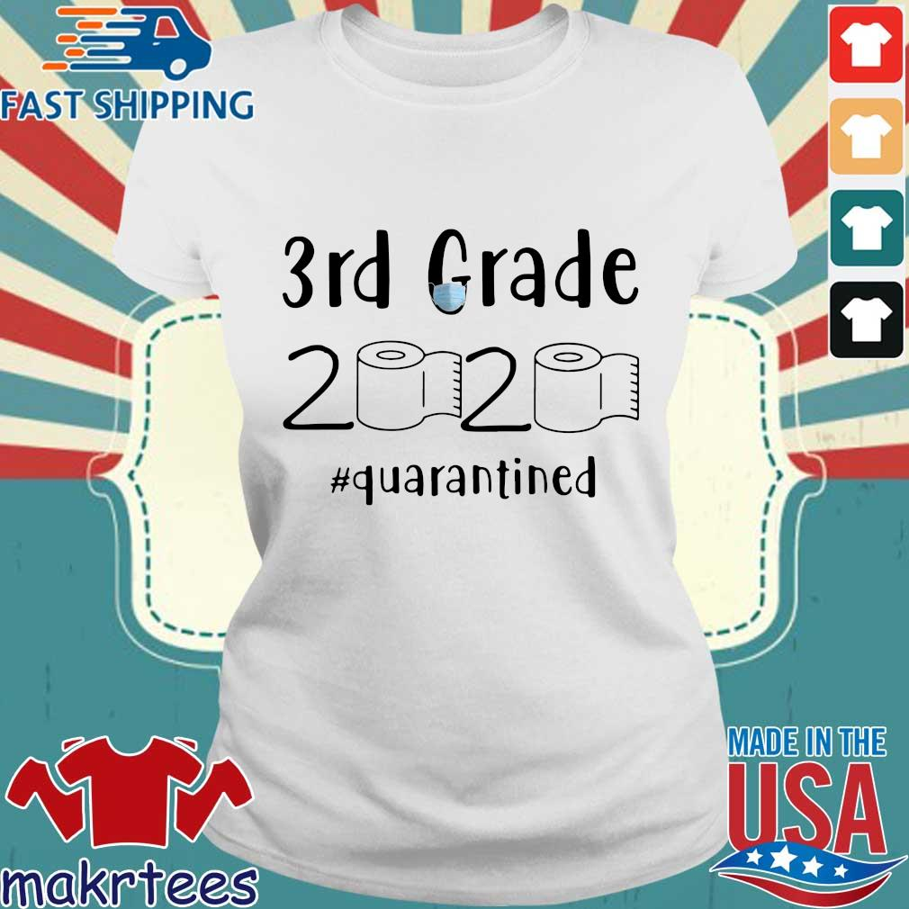 3rd Grade 2020 Toilet Paper #quarantined Shirt Ladies trang