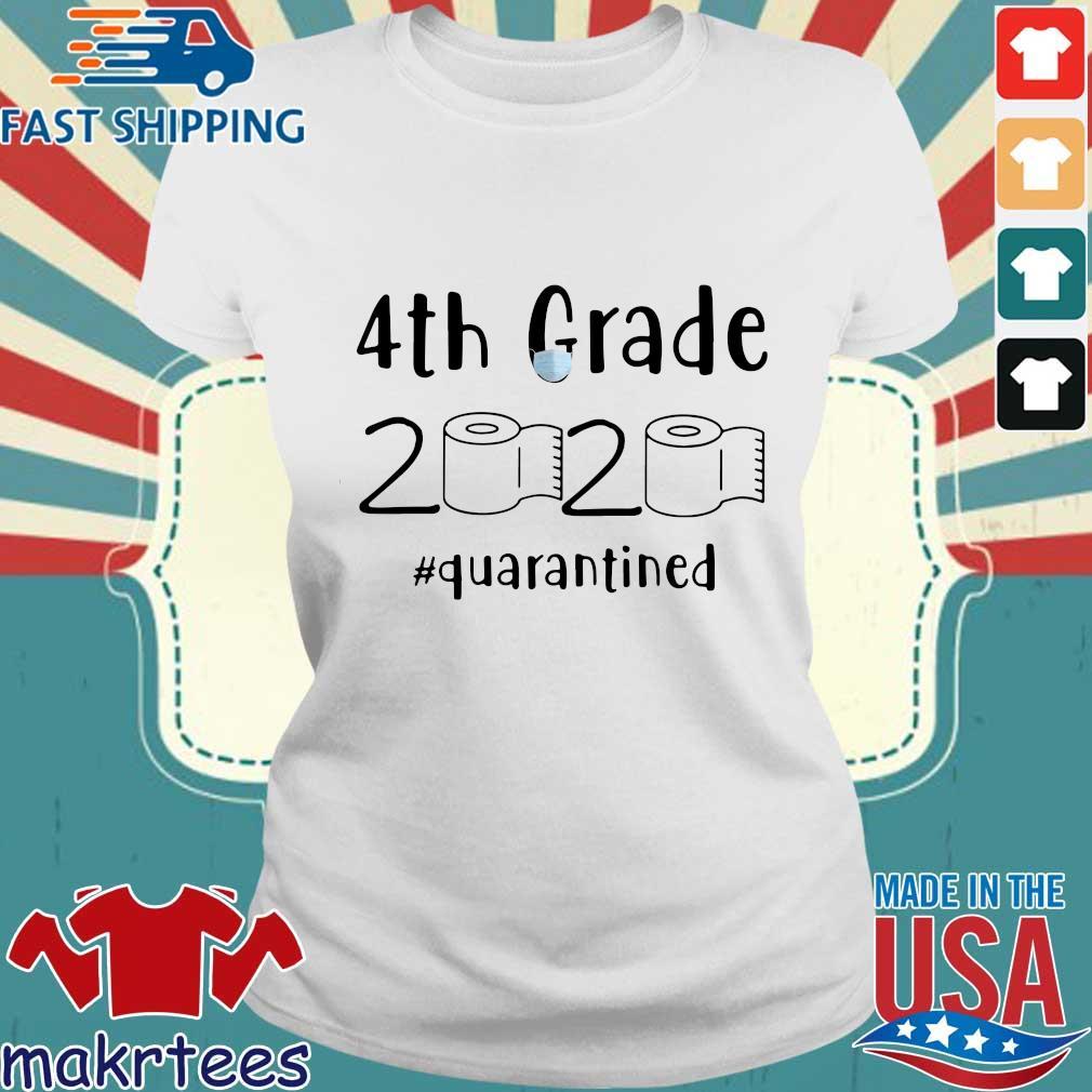 4th Grade 2020 Toilet Paper #quarantined Shirt Ladies trang