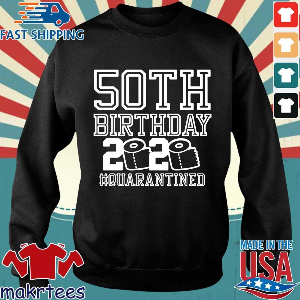 50th Birthday Quarantined 2020 Shirt Sweater den