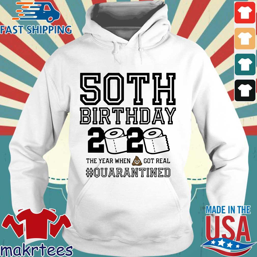50th Birthday Shirt, Quarantine Shirt, The One Where I Was Quarantined 2020 Tee Shirt Hoodie trang