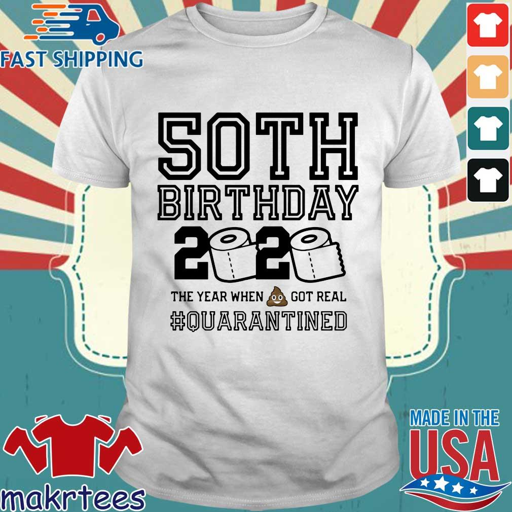 50th Birthday Shirt, Quarantine Shirt, The One Where I Was Quarantined 2020 Tee Shirt