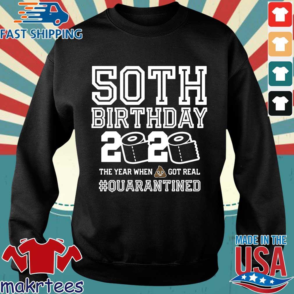 50th Birthday Shirt, Quarantine Shirt, The One Where I Was Quarantined 2020 Tee Shirts Sweater den