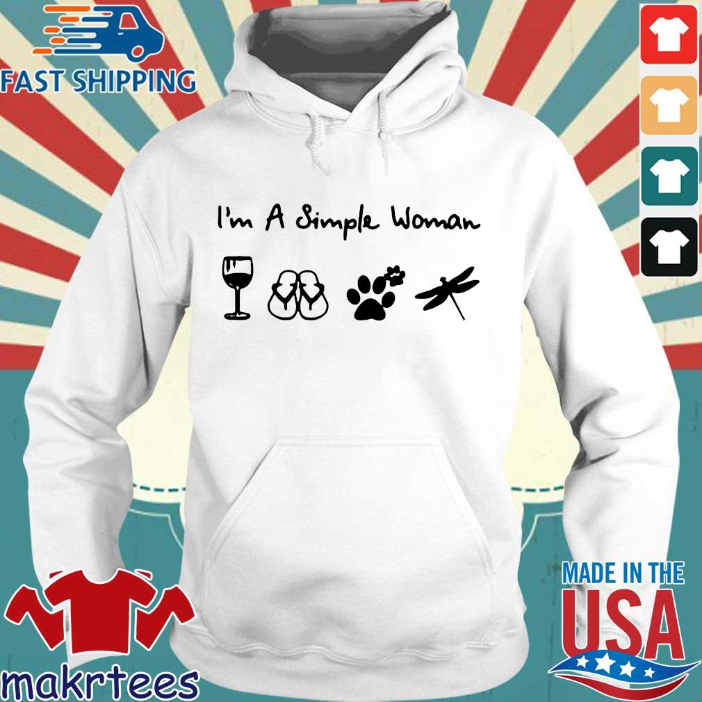 A Simple Woman Crewneck Shirt Hoodie trang