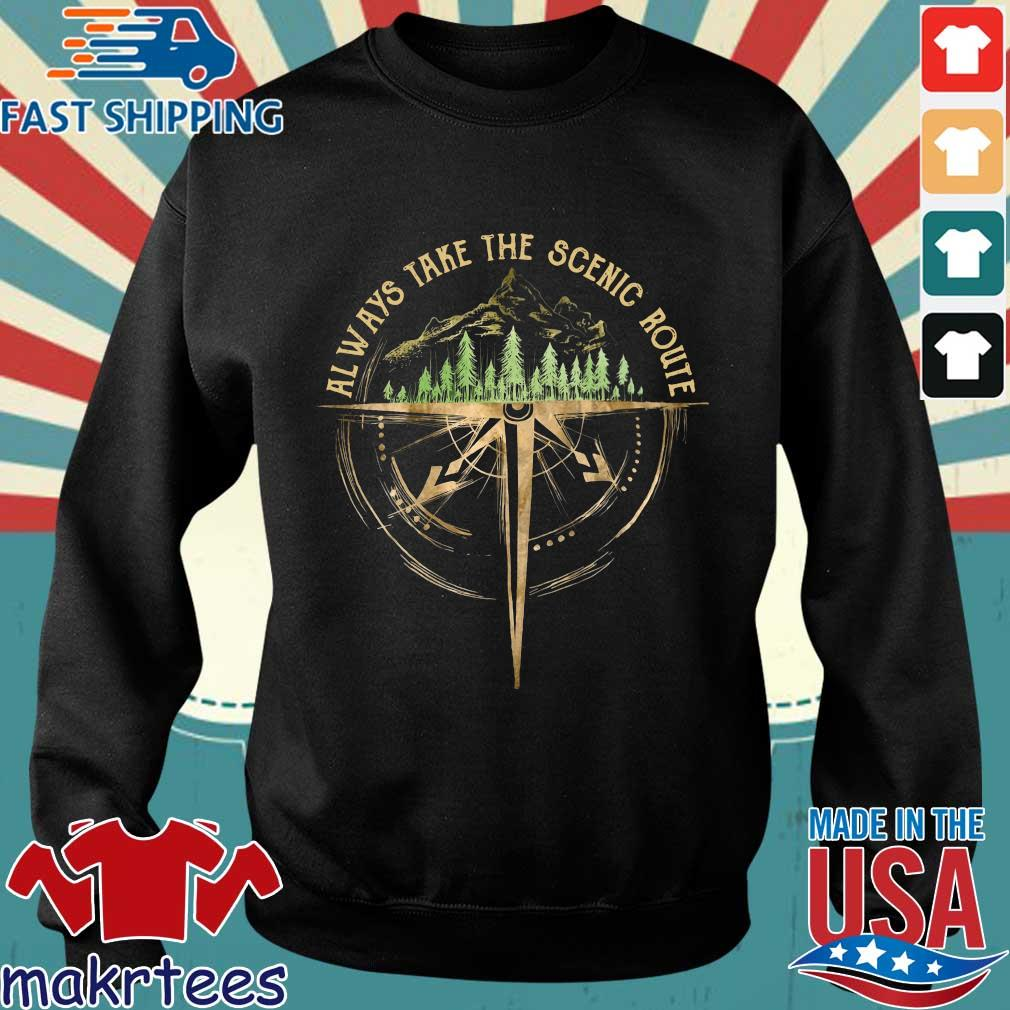 Always Take The Scenic Route Shirt Sweater den
