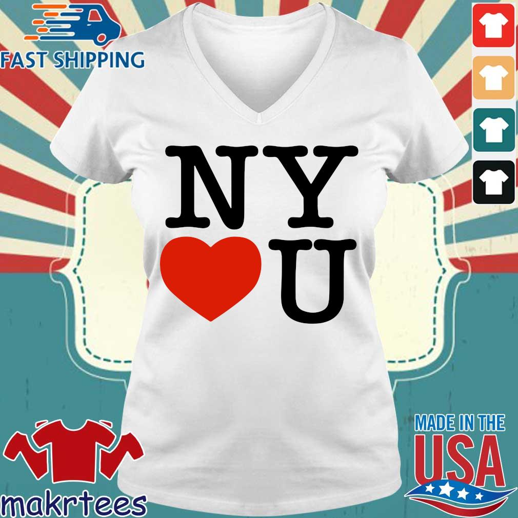 Andrew Cuomo New York Loves You Shirt Ladies V-neck trang