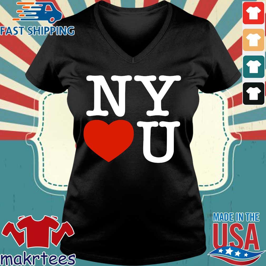 Andrew Cuomo New York Loves You Tee Shirt Ladies V-neck den